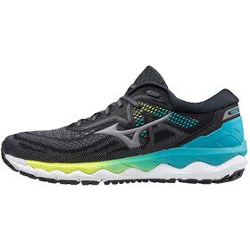 Mizuno Wave Sky 4 Scarpe Donna, phantom/crock/scuba blue